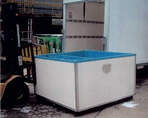 The fish tank which caused the worker's injuries
